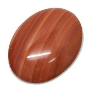 ti-lo-15 天然石ルース レッドマラカイト オーバルカボッション 大きめBIGルース 約40x30mm  1個 裸石