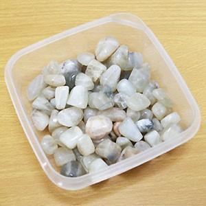 ti-tam-15 天然石タンブル ムーンストーン 穴なしタンブル 約500g  量り売り