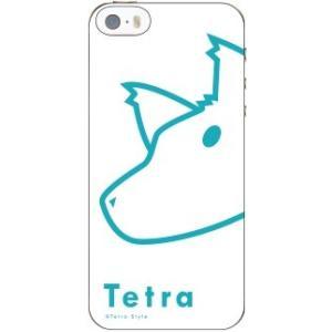 ひょっこりiPhoneケース(5/5s対応)「てとら」|tetrastyleshop