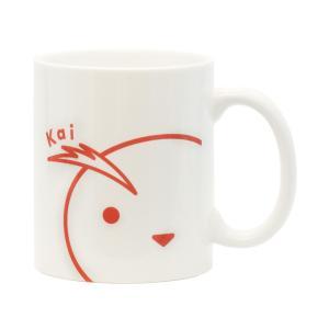 ひょっこりマグカップ(カイ)|tetrastyleshop