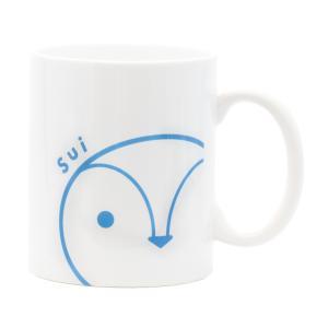ひょっこりマグカップ(スイ)|tetrastyleshop