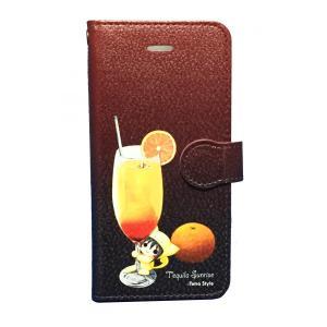 手帳型iPhoneカバー しぃる(6/6s)|tetrastyleshop
