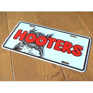 HOOTERS コマーシャルプレート(ホワイト) フーターズ インテリア アメリカ雑貨 アメリカン雑貨|texas4619