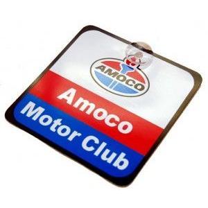 プラスチックハンギングプレート(Amoco Motor Club) カーアクセサリー アメリカ雑貨 アメリカン雑貨|texas4619
