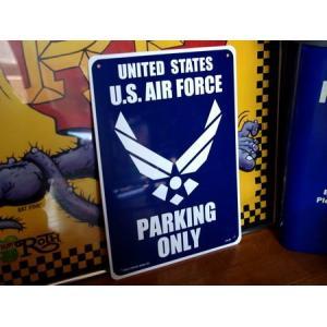 プラスチックサインボード(U.S. AIR FORCE) 看板 ミリタリー エアフォース インテリア アメリカ雑貨 アメリカン雑貨|texas4619