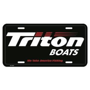 Triton BOATS ライセンスプレート バスフィッシング 釣り アメリカ雑貨 アメリカン雑貨|texas4619