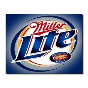 ティンサインプレート(Miller Light) ミラー ビール 看板 インテリア アメリカ雑貨 アメリカン雑貨|texas4619