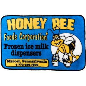 フロアマット(HONEY BEE) インテリア アメリカ雑貨 アメリカン雑貨|texas4619