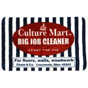 フロアマット(Culture Mart BIG JOB CLEANER) インテリア アメリカ雑貨 アメリカン雑貨|texas4619