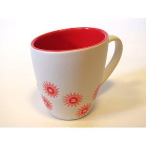 M&M'S エムアンドエムズ フラワーマグカップ(レッド) マグカップ アメリカ雑貨 アメリカン雑貨|texas4619