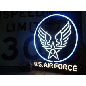 U.S. AIR FORCE ネオンサイン ミリタリー エアフォース アメリカ雑貨 アメリカン雑貨|texas4619