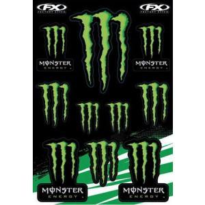 MONSTER ENERGY(モンスターエナジー) ステッカーセットA アメリカ雑貨 アメリカン雑貨|texas4619