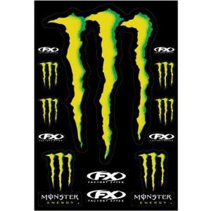 MONSTER ENERGY(モンスターエナジー) ステッカーセットB アメリカ雑貨 アメリカン雑貨|texas4619
