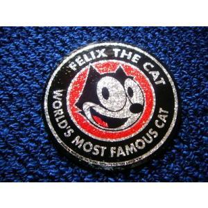 フィリックス グリッターステッカー(サークル) FELIX アメリカ雑貨 アメリカン雑貨|texas4619
