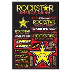 ROCKSTAR ENERGY(ロックスターエナジー) ステッカーセットB アメリカ雑貨 アメリカン雑貨|texas4619