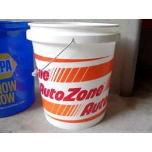 AutoZone(オートゾーン) バケツ 5ガロン アメリカ雑貨 アメリカン雑貨|texas4619