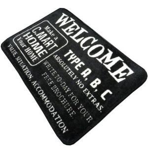 フロアマット(WELCOME) インテリア アメリカ雑貨 アメリカン雑貨|texas4619