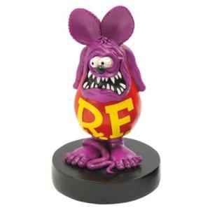 ラットフィンク ボビングドール(M SIZE) パープル RAT FINK フィギュア アメリカ雑貨 アメリカン雑貨|texas4619