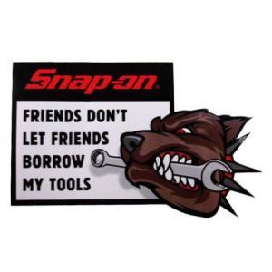 スナップオン Snap-on ステッカー(DOG) アメリカ雑貨 アメリカン雑貨|texas4619