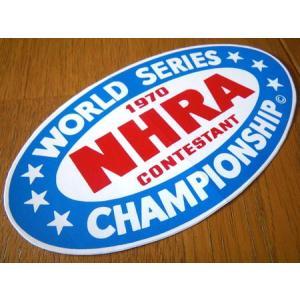 レーシングステッカー(NHRA 1970 WORLD SERIES) アメリカ雑貨 アメリカン雑貨 texas4619