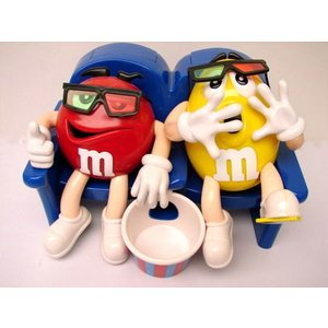 M&M'S エムアンドエムズ チョコディスペンサー(AT THE MOVIES) アメリカ雑貨 アメリカン雑貨|texas4619