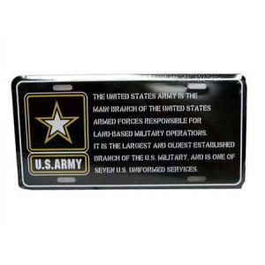 コマーシャルプレート(U.S. ARMY) 看板 インテリア ミリタリー アーミー アメリカ雑貨 アメリカン雑貨|texas4619
