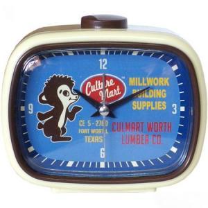 レトロアラームクロック(MILLWORK) 目覚まし時計 インテリア アメリカ雑貨 アメリカン雑貨|texas4619