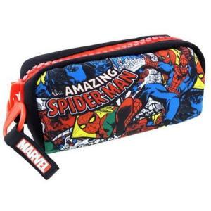 SPIDER-MAN ペンポーチ(アメコミ) スパイダーマン 文具 アメリカ雑貨 アメリカン雑貨|texas4619