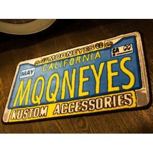 MOONEYES フロアマット(ライセンスフレーム) インテリア ムーンアイズ アメリカ雑貨 アメリカン雑貨|texas4619