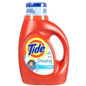 タイド ウィズ タッチオブダウニー クリーンブリーズ(1470mL) Tide with a Touch of Downy 洗濯用洗剤&柔軟剤 2倍濃縮|texas4619