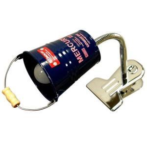 MERCURY MiniBucket Clip Light(ネイビー) マーキュリー クリップライト バケツ アメリカ雑貨 アメリカン雑貨|texas4619