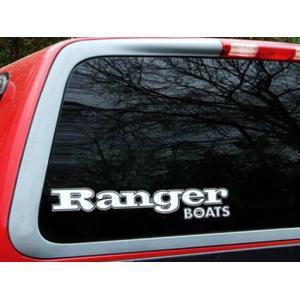 Ranger BOATS ビッグウィンドウデカール(B) バスフィッシング 釣り アメリカ雑貨 アメリカン雑貨|texas4619