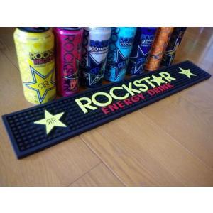ROCKSTAR ENERGY(ロックスターエナジー) バーマット コースター アメリカ雑貨 アメリカン雑貨|texas4619