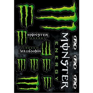 MONSTER ENERGY(モンスターエナジー) ステッカーセットD アメリカ雑貨 アメリカン雑貨|texas4619