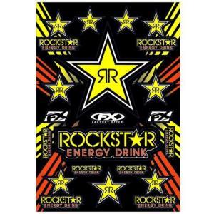 ROCKSTAR ENERGY(ロックスターエナジー) ステッカーセットC アメリカ雑貨 アメリカン雑貨|texas4619