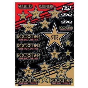 ROCKSTAR ENERGY(ロックスターエナジー) ステッカーセットD アメリカ雑貨 アメリカン雑貨|texas4619