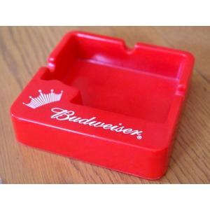 Budweiser バドワイザー ノベルティ 灰皿 喫煙具 アッシュトレイ アメリカ雑貨 アメリカン雑貨|texas4619