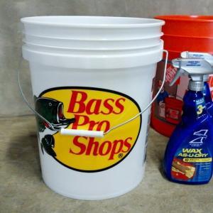 Bass Pro Shops バスプロショップス バケツ 5ガロン バスフィッシング 釣り ガレージ インテリア アメリカ雑貨 アメリカン雑貨 texas4619