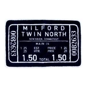 フロアマット(MILFORD TWIN NORTH) The United EMN インテリア アメリカ雑貨 アメリカン雑貨|texas4619