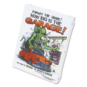 ラットフィンク アートキャンバス(GARAGE)(S SIZE) RAT FINK インテリア アメリカ雑貨 アメリカン雑貨|texas4619