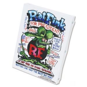 ラットフィンク アートキャンバス(PRESIDENT)(S SIZE) RAT FINK インテリア アメリカ雑貨 アメリカン雑貨|texas4619