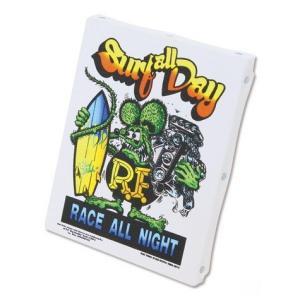 ラットフィンク アートキャンバス(Surf all Day)(S SIZE) RAT FINK インテリア アメリカ雑貨 アメリカン雑貨|texas4619
