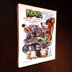 ラットフィンク アートキャンバス(NOVA)(M SIZE) RAT FINK インテリア アメリカ雑貨 アメリカン雑貨|texas4619