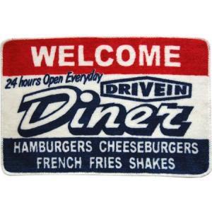 フロアマット(Diner) インテリア アメリカ雑貨 アメリカン雑貨|texas4619