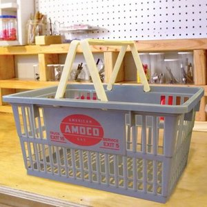 アモコ AMOCO マーケットバスケット 買い物かご アメリカ雑貨 アメリカン雑貨 texas4619
