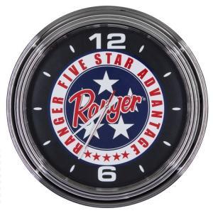 Ranger BOATS ウォールクロック(FIVE STAR) 壁掛け時計 バスフィッシング 釣り アメリカ雑貨 アメリカン雑貨|texas4619