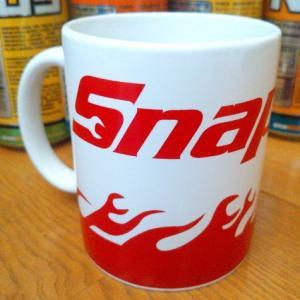 スナップオン Snap-on マグカップ(ホワイト) アメリカ雑貨 アメリカン雑貨 texas4619