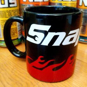 スナップオン Snap-on マグカップ(ブラック) アメリカ雑貨 アメリカン雑貨 texas4619