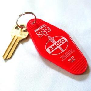 ホテルキーホルダー アモコ AMOCO アメリカ雑貨 アメリカン雑貨|texas4619