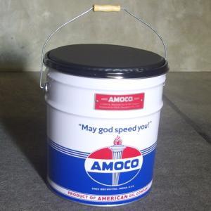 オイル缶スツール AMOCO 椅子 収納 アメリカ雑貨 アメリカン雑貨 texas4619